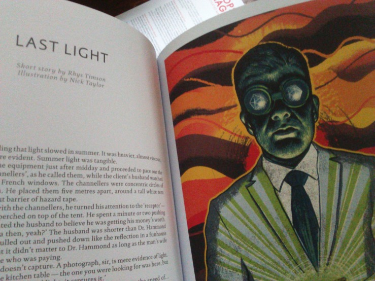 Illustration for 'Last Light' in Popshot Magazine